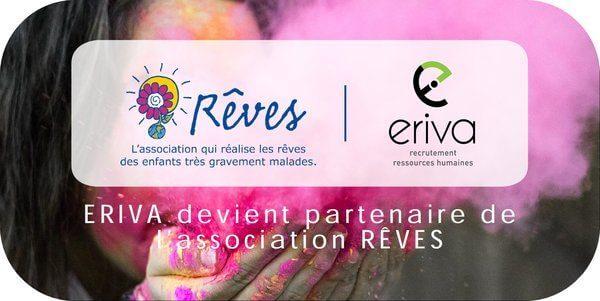 ERIVA partenaire de l'association RÊVES
